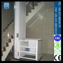Exterior vertial silla de ruedas / uso en el hogar pequeño ascensor para la persona