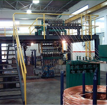 Non-oxygen Copper Wire manufacturing plant on selling