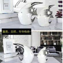 glazd horse/bird/swan/cat/elephant/rabbit/fish shape ceramic craft