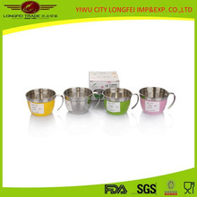 8CM Diameter Colorful Stainless Steel Coffee Cup