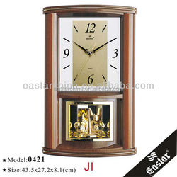 Large electric wall clock for office decor modern deaign