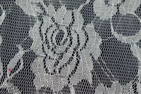 Polyester floral tricot knitted lace for bedding(122)