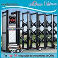 Principal automático de aluminio puerta de aleación modelos de puertas metálicas