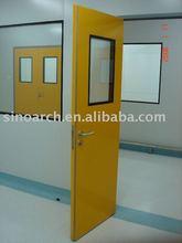 laboratory room door