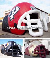 large inflatable football helmet