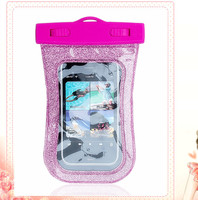 factory price IPX8 pvc dry mobile phone bag for iphone 6
