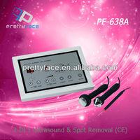 Ultrasonic and spot removal beauty mechine