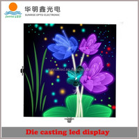 Express alibaba Clear view HD entertainments led screen video display p6 led