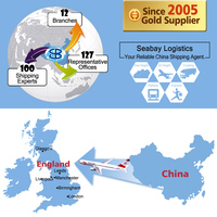 Cheap air freight Beijing, China to London