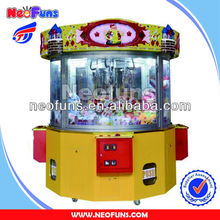 NF-P22 Moving Castle toy claw machine 4 player toghther