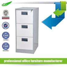 Cheap 3 metal drawer office storage under desk free standing metal steel file cabinet