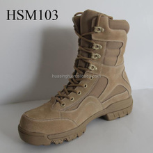 LB, excellent breathable military standard tan abrasion resistant army boots