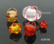 Fantastic charms beads for jewelry,6*7mm four face bead