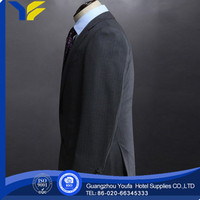 anti-wrinkle new style 100% polyester mens denim suits