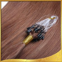 Shangkai micro ring loop hair extension Russian hair flip in hair extension