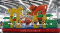 commercial slide kids jumping slide / inflatabe slide on sale !!!
