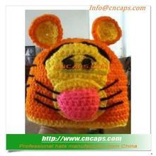 Cheap Price Tigger Animal Crochet Pattern Hat