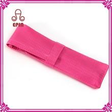 Pas cher ddark rose cas pour stylo - fantaisie rose sac de crayon EPS0010