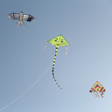 Outdoor child flying kite toys