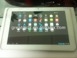 Cheap 10 inch tablet pc android 4.1 two camera MSM8225Q quad core android tablet pc
