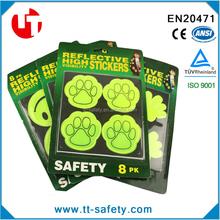 promotion high light at night safety PVC reflective sticker