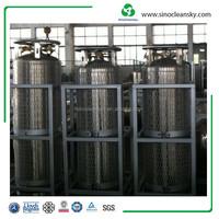 205 L HP Liquid Nitrogen Cryogenic Gas Cylinder DOT Standard