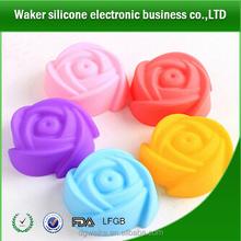 Bakeware Silicone Rose Flower Baking Cake Pan Mold