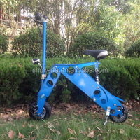 SHUKEDA 2015 new design full aluminum frame electric scooter with lithium battery brussless motor scooter for adult