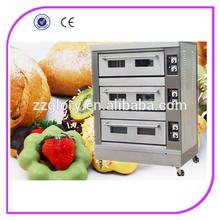 comercial de equipos de panadería 3 panadería de la cubierta del horno para la venta