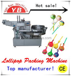YB-120 Factory direct sale Automatic Twist Lollipop Wrapping Machine