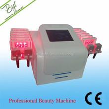 2014 most popular noninvasive lipo laser slimming machine 16pads