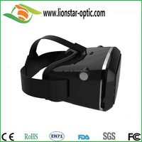 best quality Google cardboard VR virtual reality 3D glasses for phone with adjustable focal length