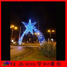 outdoor holiday decoration Street Arch Decorative christmas led lights