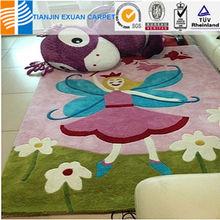 Anti-slip children play rug
