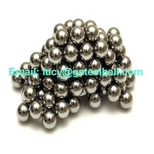 Magnetic and hardness AISI420 G100 stainless steel ball