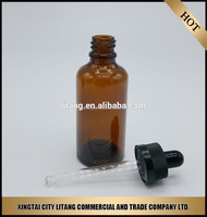 glass bottle for e cig liquid unicorn chemicals company with dropper caps