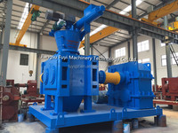Dry roll press granulator machine for the Russian Red K