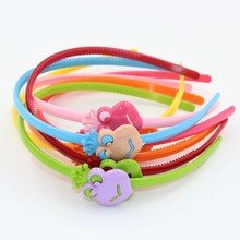 HL-0380 Colorful Monkey Hair Hoop High Quality Acrylic Head Band for Girls