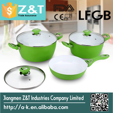 Forged aluminum non-stick ceramic Cookware Set for cooking