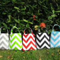 Wholesale Chevron Car Trash Bag , car litter bag ,Accessory Holder Bag in 5 color DOM-105065
