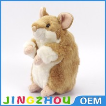 Meet EN71 and ICTI standard cute stuffed animal toy plush hamster