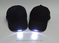 black visor with light