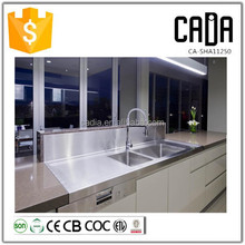 direct china manufacturer above counter cheap customized ready made kitchen cabinets with sink