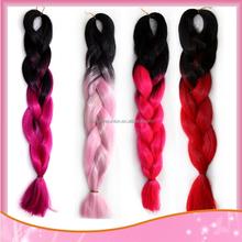 100% Kanekalon Soft Jumbo Braid Hair Synthetic Extension Braiding Hair