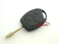 Black Remote key 3button 433Mhz FO21 KR55WK47899 for Ford Fiesta Focus Mondeo remote key
