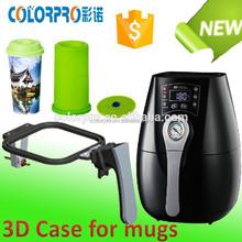 Mini sublimation 3d vacuum heat press machine for mugs/phone cases