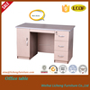 Hot sell computer desk with locked drawers/melamine office table