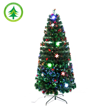 Best selling fiber optic christmas tree , with led lights decoration