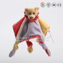 Hot sale baby toys stuffed animal plush pacifier doll