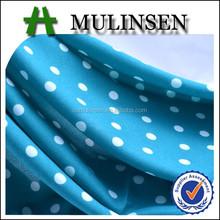 mlinsen textiles de lana de melocotón impreso lunares vintage tela